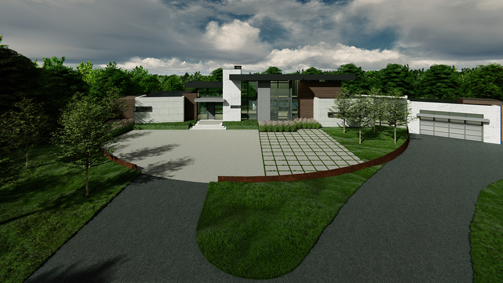 Michigan Modern Residential Architect