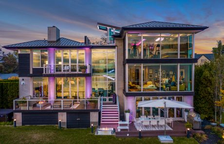 Architect in MI Designs Award Winning Home on Pine Lake